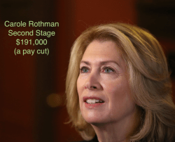 Carole Rothman Second Stage salary
