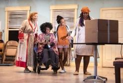 Elizabeth Canavan (Rockaway Rosie), Patrice Johnson Chevannes (Wanda Wheels), Kara Young (Lil Melba Diaz) and Benja Kay Thomas (Queen Sugar). Photograph by Monique Carboni