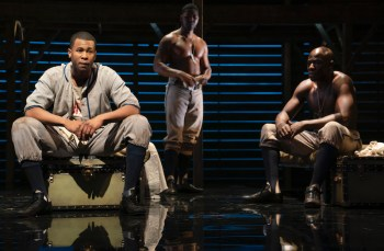 Rob Demery, J Alphonse Nicholson, Mickenly Belcher III in A Soldier's Play