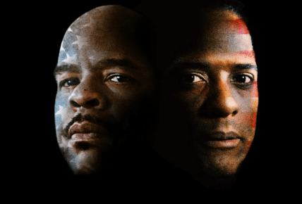 David Alan Grier and Blair Underwood, A Soldier's Play