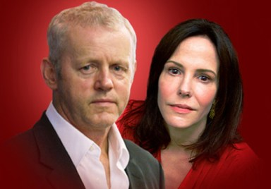 David Morse and Mary-Louise Parker in How I Learned to Drive