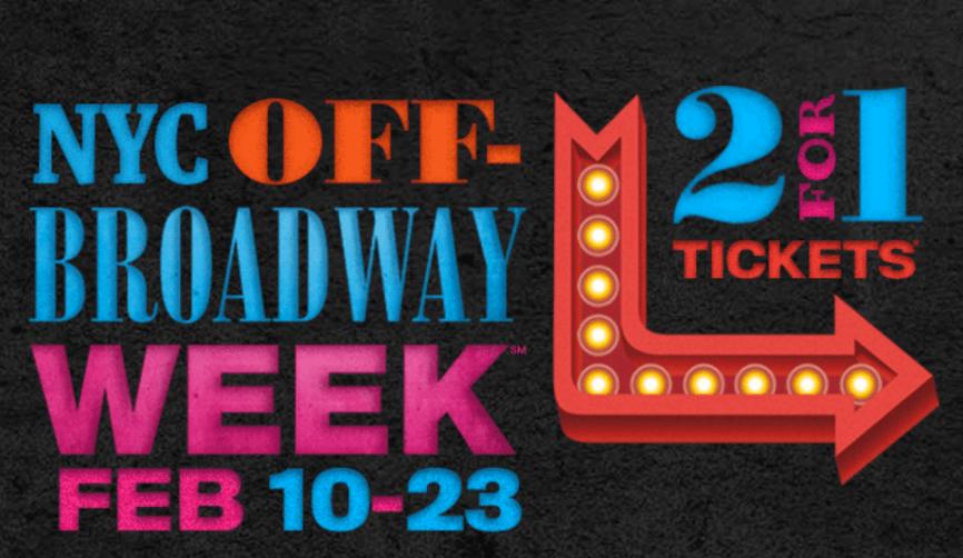 Off Broadway Week logo