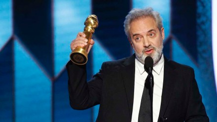 "Sam Mendes accepts the award for Best Director - Motion Picture for ""1917"" at the 77th Annual Golden Globe Awards. Mendes is a 20-time Broadway veteran (that includes shows that originated from the Donmar Warehouse, where he was artistic director.) and five-time Tony Award winner, most recently for ""The Ferryman."" Next up for Mendes on Broadway: The Lehman Trilogy"