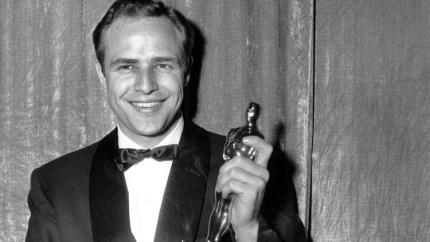 Oscar-winner Marlon Brando