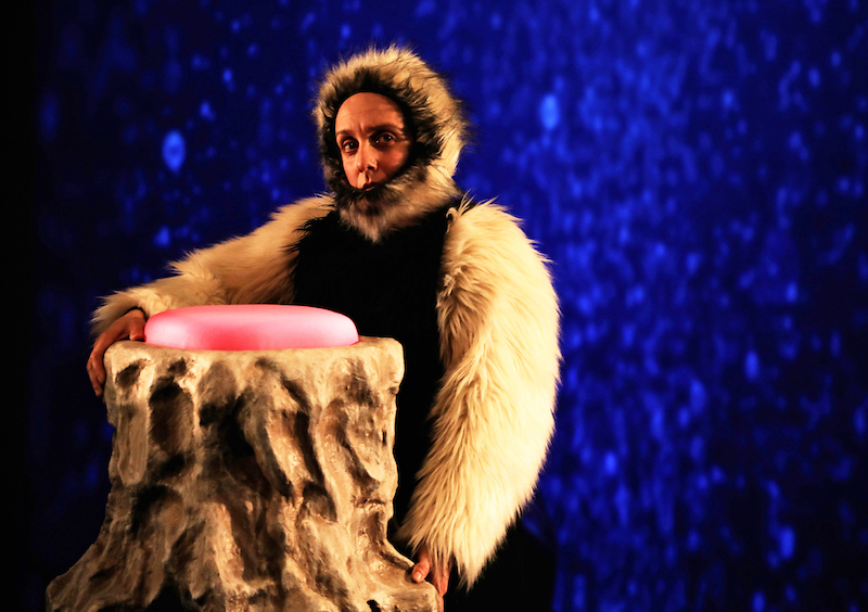 Davi Cohen as Aoua in Generator: Pestilence Part 1 at La MaMa
