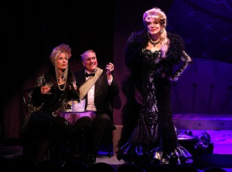Jennifer Van Dyck, Christopher Borg & Charles Busch in THE CONFESSION OF LILY DARE at Primary Stages, Photo by Carol Rosegg (1)