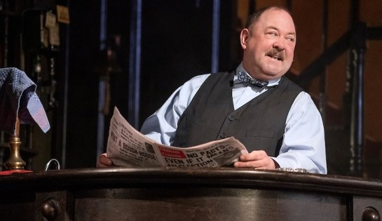 "Mark Addy of ""Hangmen,"" which will not open on Broadway"