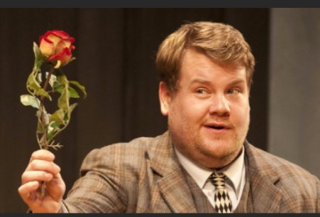 James Corden at National Live at Home in One Man Two Guvnors