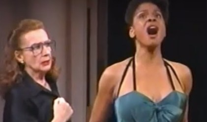 Master Class with Zoe Caldwell and Audra McDonald, in 1995