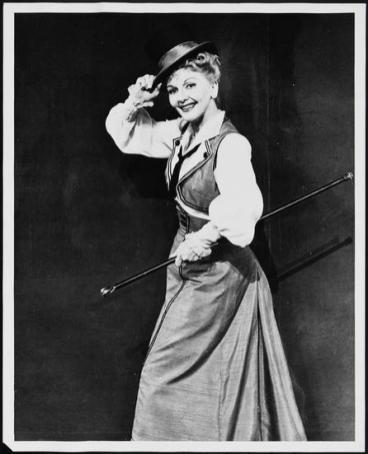 """Mary Martin in """"Jennie,"""" 1963"""