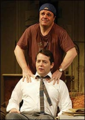 Nathan Lane and Matthew Broderick in The Odd Couple, 2005