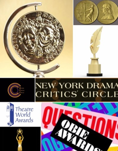 Ny theater awards 2020 collage