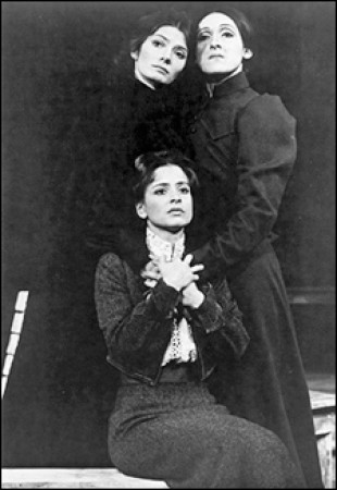 Patti LuPone in The Three Sisters 1973, with Mary-Joan Negro and Mary Lou Rosato