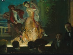 Spanish Music Hall by Everett Shinn, 1902