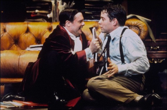 The Producers, 2001. Nathan Lane with Matthew Broderick