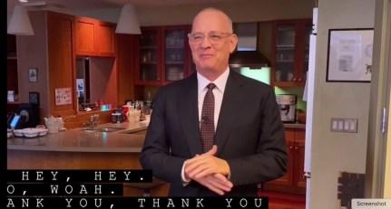 Tom Hanks on SNL
