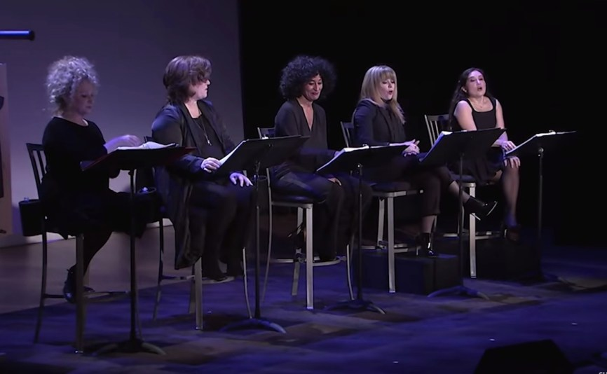 92y cast of Love, Loss and What I Worte