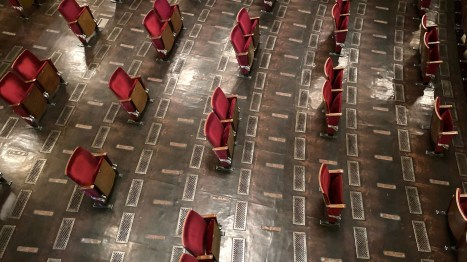 Berliner Ensemble socially distance theater