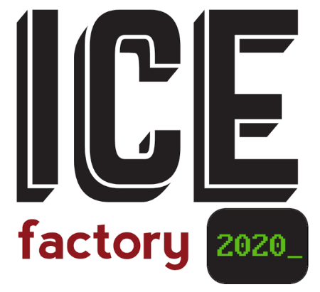 Ice Factory Festival 2020 logo