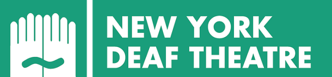 New YOrk Deaf Theatre logo