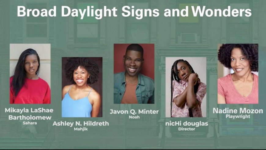 Broad Daylight cast and creative