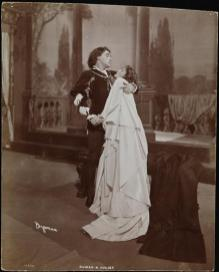 Eleanor Robson and Kyrle Bellew in Romeo and Juliet 1903