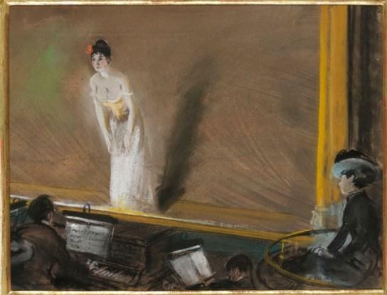 Everett Shinn Bal Tabarin 1902