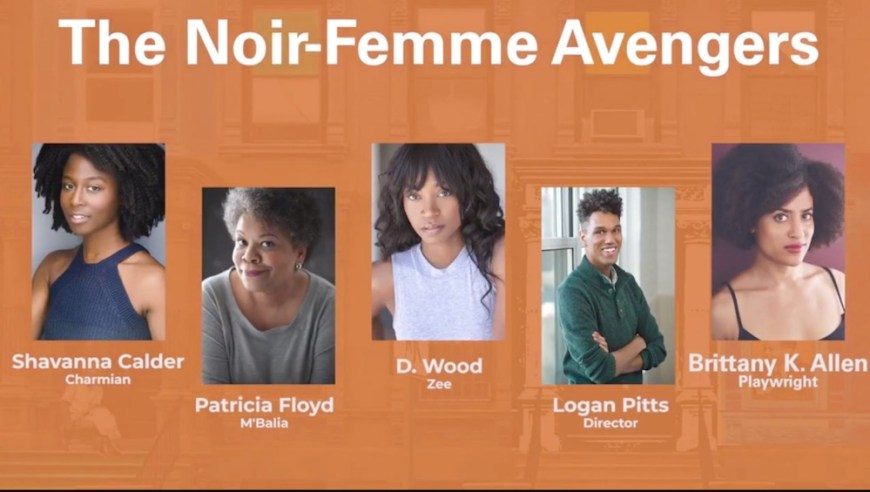 Noir Femme cast and creative