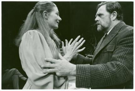 The Lady From The Sea Vanessa Redgrave and Pat Hingle
