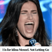 I is Idina Menzel