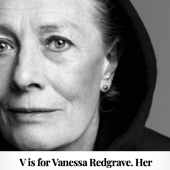 V is for Vanessa Redgrave