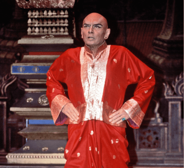 Yul Brynner in The King and I in 1985