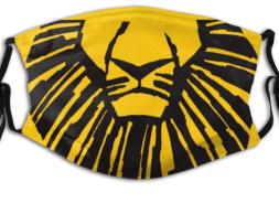 Lion King face mask