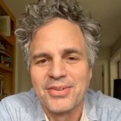 Mark Ruffalo promoting Lonergan play