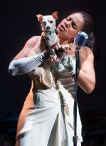 Audra McDonald as Billie Holiday in Lady Day At Emerson's Bar and Grill
