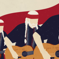 Willie Nelson's animated video