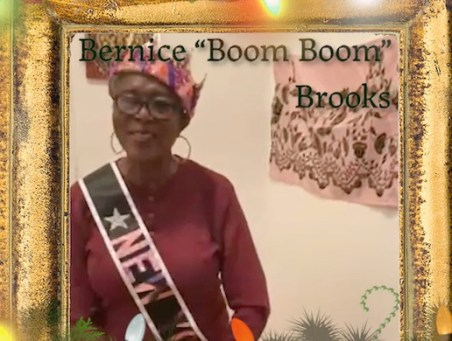One of the crowned Queens