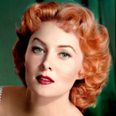 Rhonda Fleming, 97, known for her movie roles, made her Broadway debut in Clare Boothe Luce's 'The Women' and toured as Madame Dubonnet in 'The Boyfriend.' In 1957, Fleming made her stage musical debut in Las Vegas at the opening of the Tropicana Hotel's showroom.""
