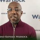 I was the 11th of 12 children who grew up in public housing. I'm running against the wealthiest member of the U.S. Senate. Only in America could this happen.... We need to reclaim the American covenant...to have the moral audacity to build a beloved community--Rev Raphal Warnock