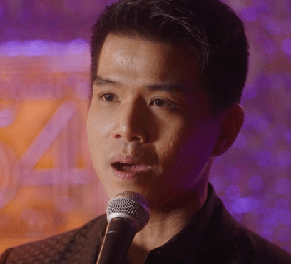 Telly Leung singing Being Alive from Company, in Sondheim Unplugged -- a hopeful, grateful, maybe defiant song for the end of 2020.