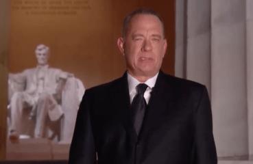 Tom Hanks and Lincoln