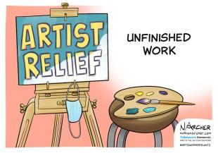 Artist Relief Nathan Archer