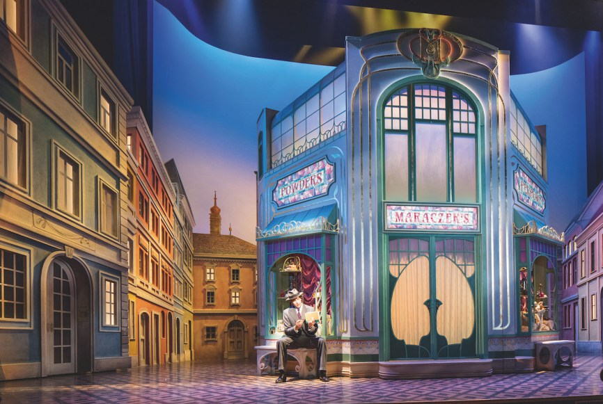 "David Rockwell's Tony-winning set design for ""She Loves Me,"" 2016"