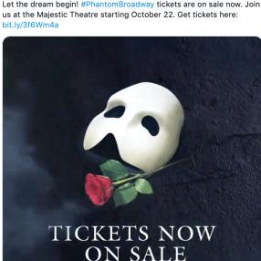 Phantom of the Opera reopening
