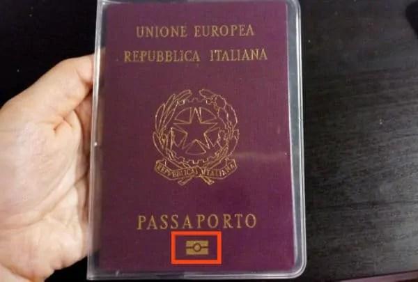 passaporto elettronico usa