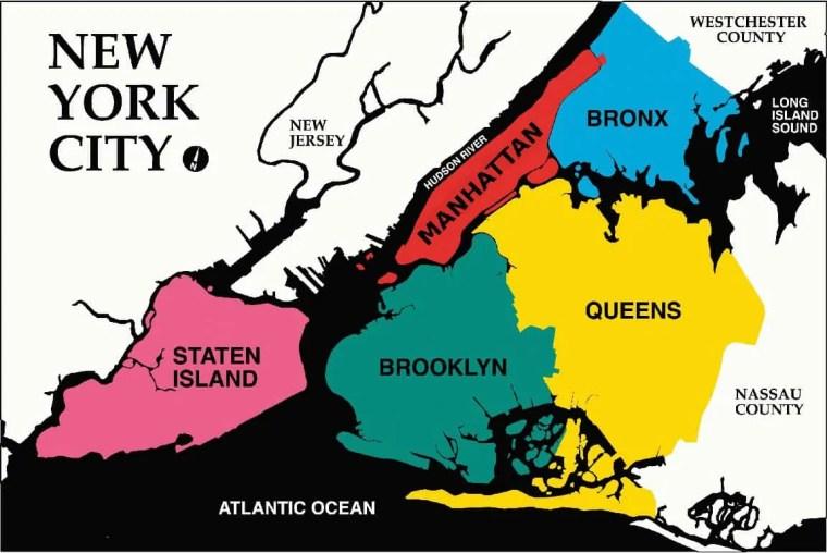 quartieri new york city