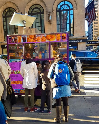 Food truck 31st St / 7th Av