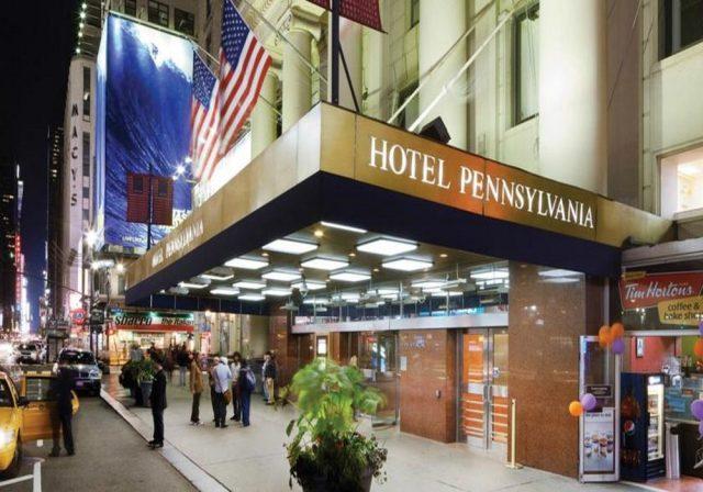 L'hôtel Pennsylvania à Manhattan..