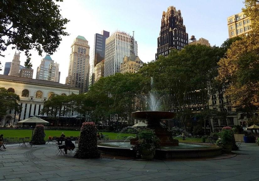 Bryant Park, le petit bijou de New York.