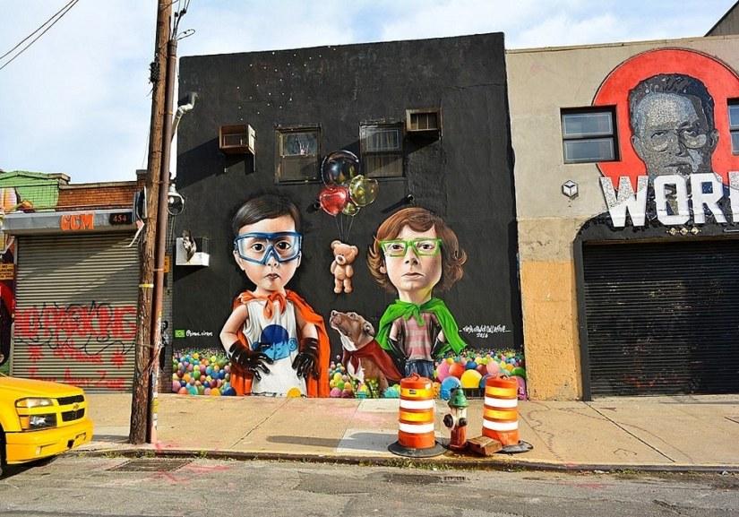 Street art et ambiance hipster à Bushwick.
